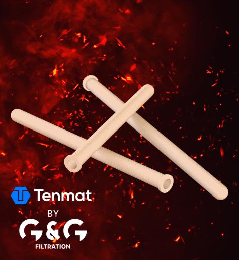 Keramički filtarski elementi za filtriranje vrućih dimnih plinova